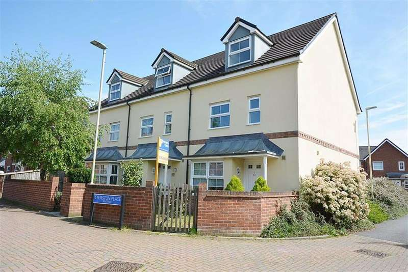 4 Bedrooms End Of Terrace House for sale in Syerston Place, Kingsway