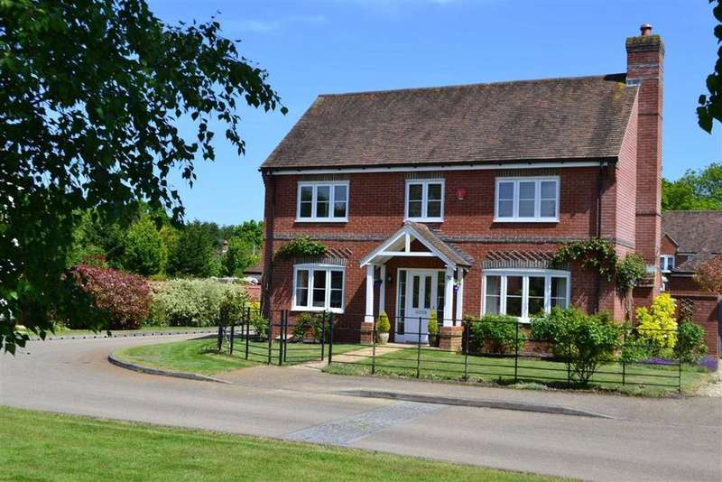 4 Bedrooms Detached House for sale in Mortons Lane, Upper Bucklebury, Berkshire, RG7