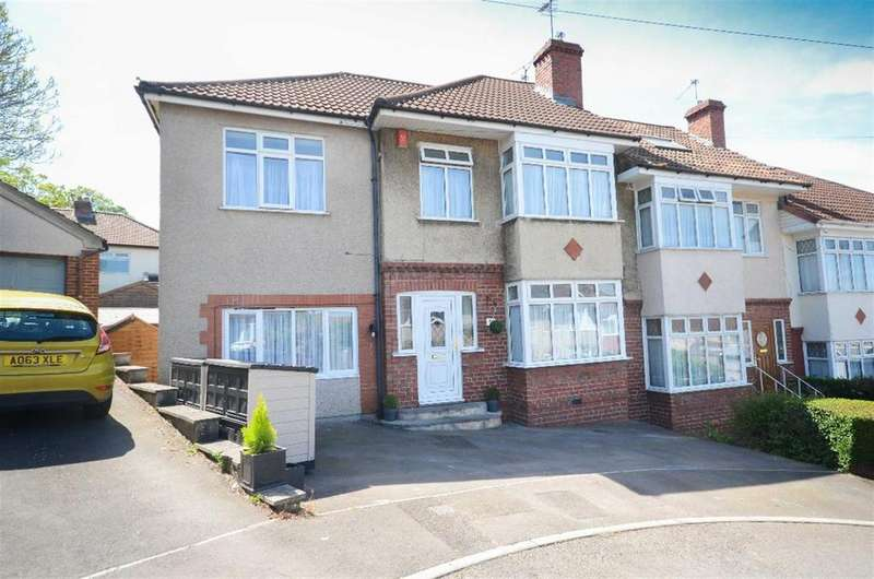 4 Bedrooms End Of Terrace House for sale in Lincombe Avenue, Bristol, BS16 5UD