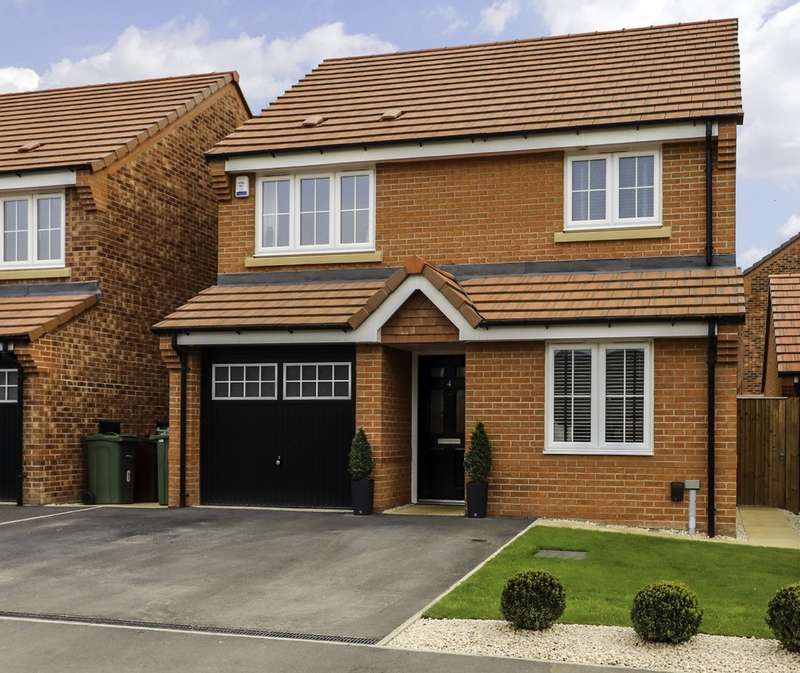 3 Bedrooms Detached House for sale in The Fouracres, Wakefield