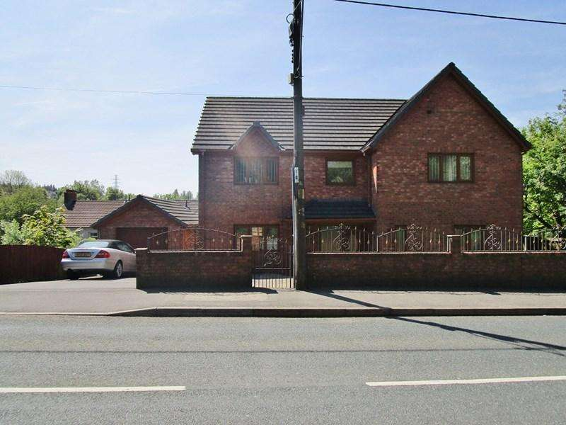 5 Bedrooms Detached House for sale in Beaufort Hill, Beaufort, Ebbw Vale