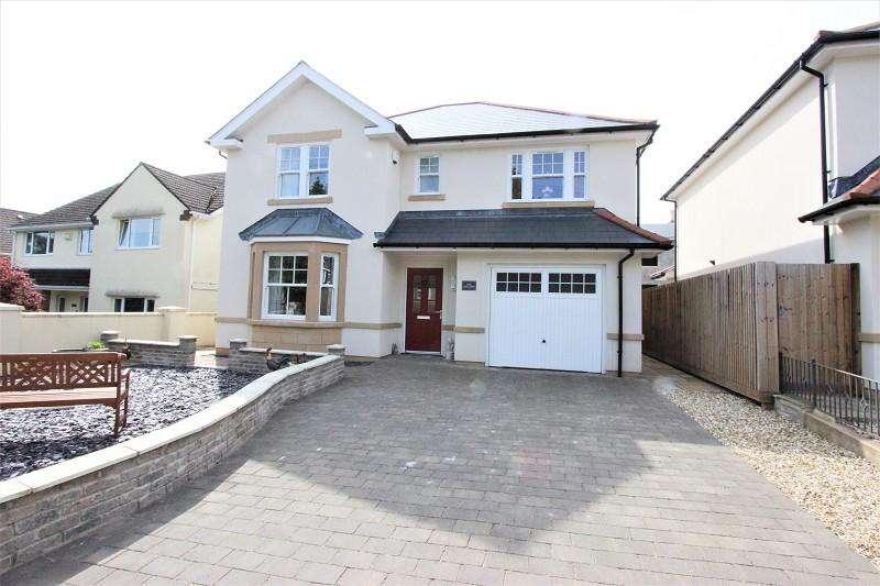 4 Bedrooms Detached House for sale in Woodlands Drive, Malpas, Newport. NP20 6QD