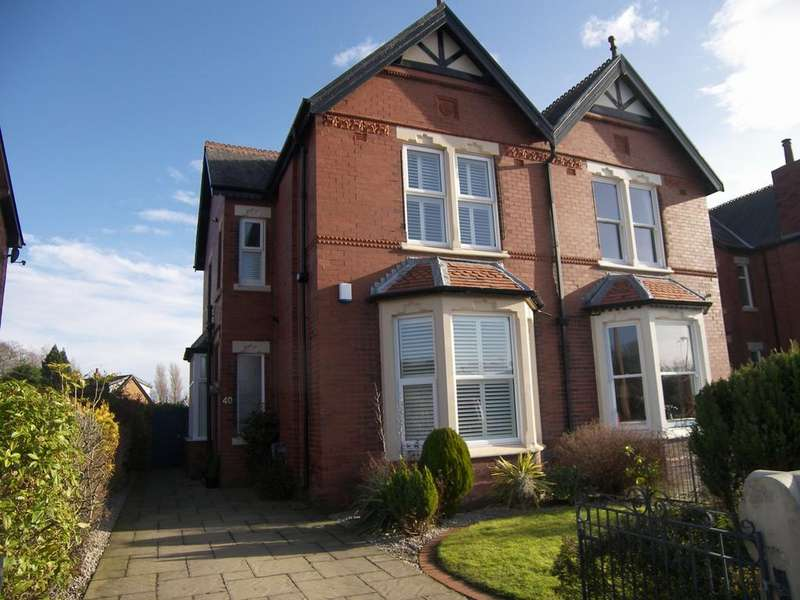 3 Bedrooms Semi Detached House for rent in Park View Road Lytham Lytham St Annes