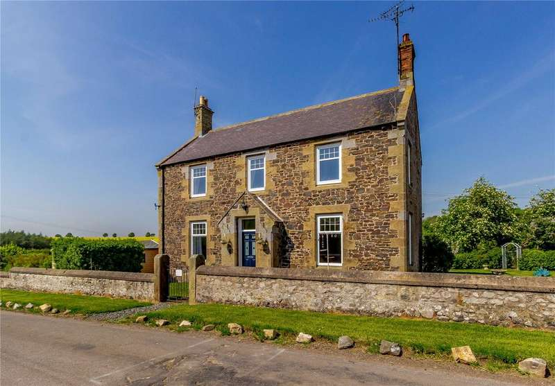 3 Bedrooms Detached House for sale in Branxton Farmhouse, Branxton, Cornhill On Tweed, Northumberland