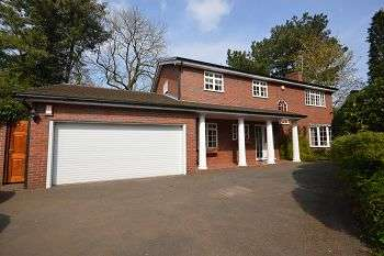 4 Bedrooms Detached House for sale in Pinewood, Chester Road, Middlewich, CW10 9EU