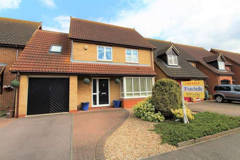 4 Bedrooms Detached House for sale in Merlin Drive, Sandy, SG19