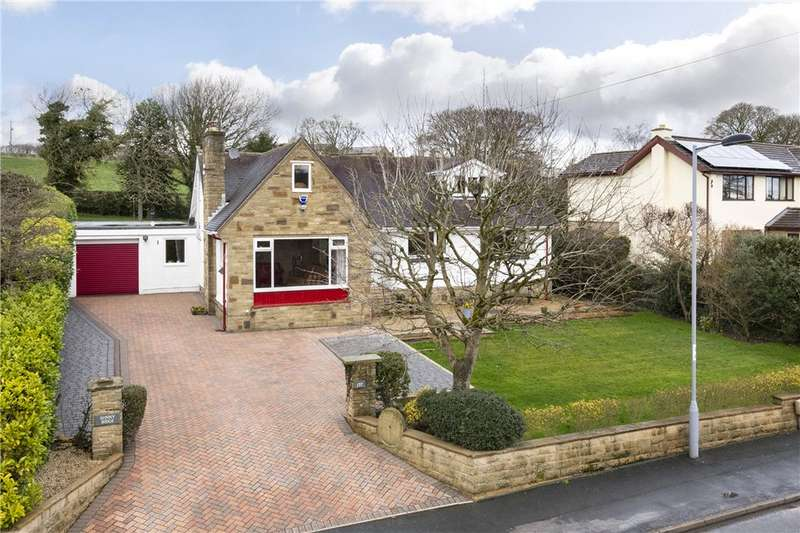 4 Bedrooms Detached Bungalow for sale in Curly Hill, Middleton, Ilkley, West Yorkshire