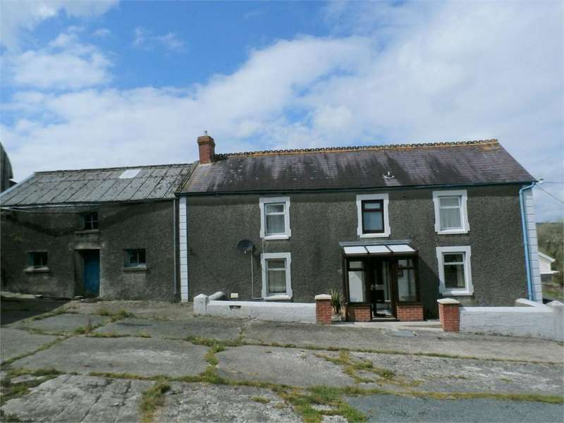 4 Bedrooms Farm Commercial for sale in Penddl, Cynwyl Elfed, Carmarthen