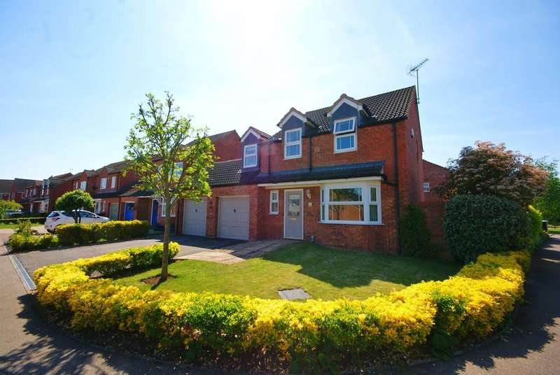 4 Bedrooms Detached House for sale in Temple Goring, Navenby, Lincoln