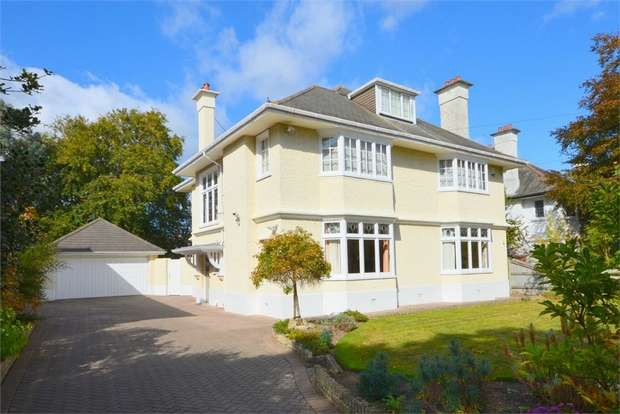 5 Bedrooms Detached House for sale in Roslin Road, Talbot Woods, Bournemouth