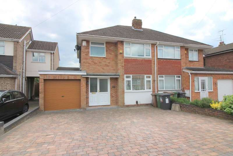 4 Bedrooms Semi Detached House for sale in Holmbrook Avenue, Luton, Bedfordshire, LU3 2AS