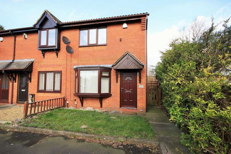 2 Bedrooms End Of Terrace House for sale in Longfellow Close, Worsley Mesnes, Wigan, WN3 5YB