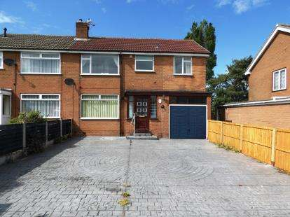 4 Bedrooms Semi Detached House for sale in Nixon Drive, Winsford, Cheshire