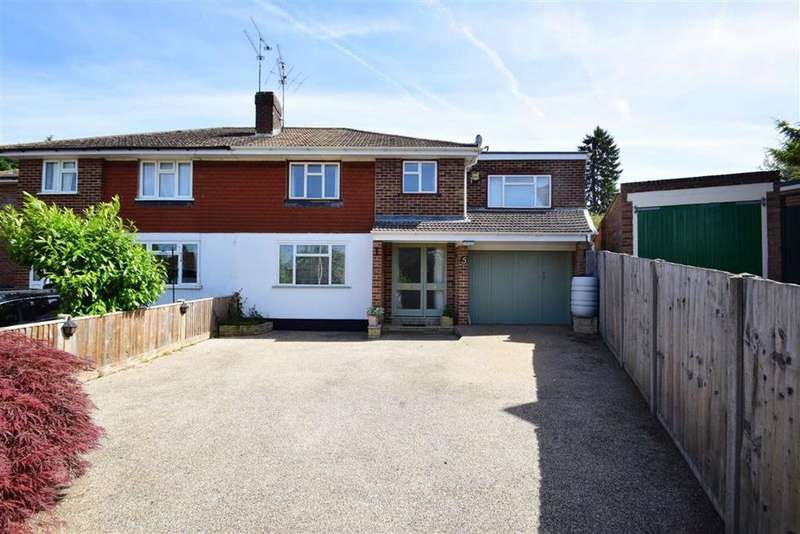 4 Bedrooms Semi Detached House for sale in Marling Close, Tilehurst, Reading