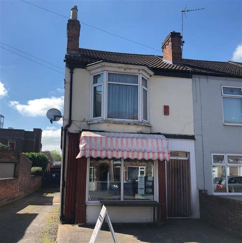 End Of Terrace House for sale in Melrose Road, Gainsborough, DN21 2SD