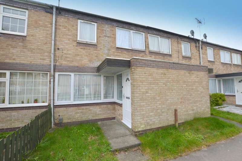 3 Bedrooms Terraced House for sale in Trident Drive, Houghton Regis, Dunstable, Bedfordshire, LU5 5QG