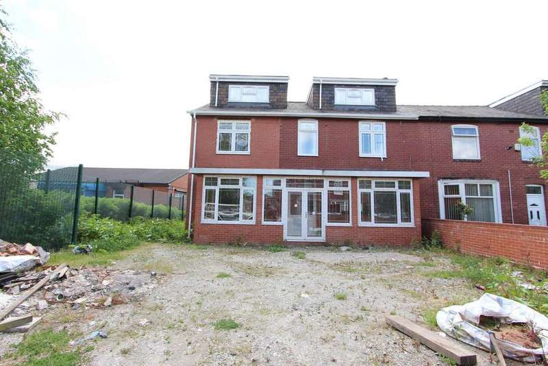 5 Bedrooms Semi Detached House for sale in Harefield Avenue, Deeplish, Rochdale