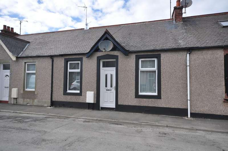 2 Bedrooms Terraced House for sale in 21 Killochan Street, Girvan KA26