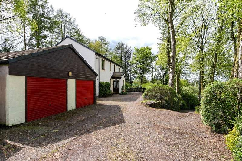 4 Bedrooms Detached House for sale in Annick Rise, Nether Robertland,, Stewarton, Ayrshire