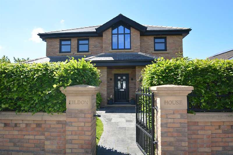 4 Bedrooms Detached House for sale in Hardhorn Road, Poulton Le Fylde, FY6 8DW