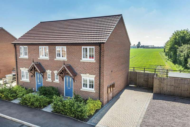 3 Bedrooms Semi Detached House for sale in Kings Manor, Coningsby, Lincs, LN4 4TJ