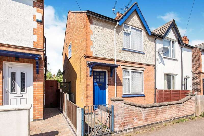 2 Bedrooms Semi Detached House for sale in King Edward Road, Loughborough, LE11