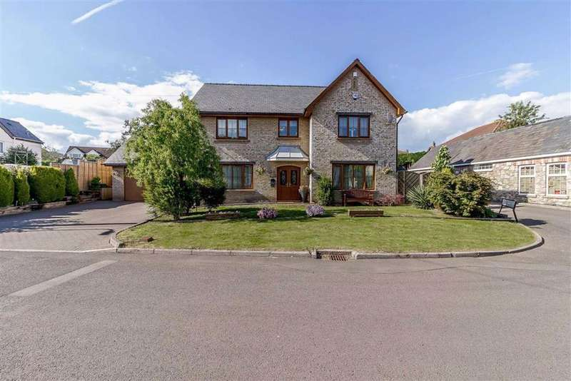 5 Bedrooms Detached House for sale in West End, Magor, Caldicot, Monmouthshire
