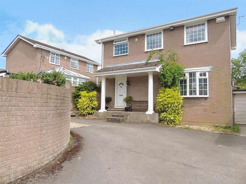 4 Bedrooms Detached House for sale in Footshill Close, Bristol