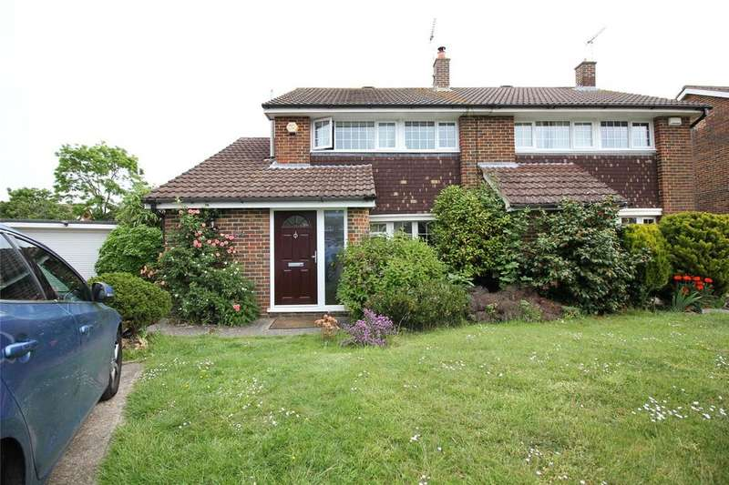 3 Bedrooms Semi Detached House for sale in Fitzroy Crescent, Woodley, Reading, Berkshire, RG5