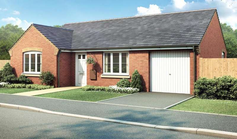 2 Bedrooms Detached Bungalow for sale in Plot 45 The Marston, Pinchbeck Fields, Spalding