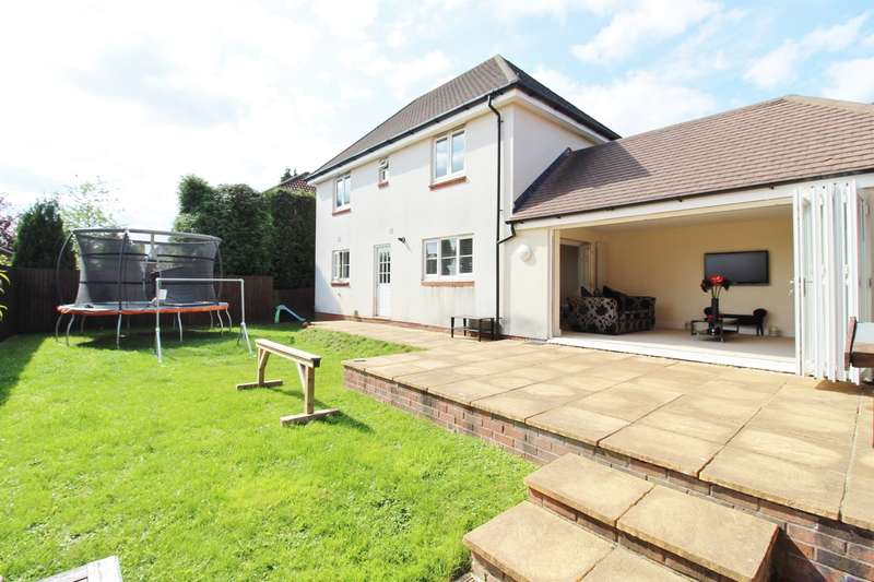 4 Bedrooms Detached House for sale in Ridgeway Park Road, Newport, NP20