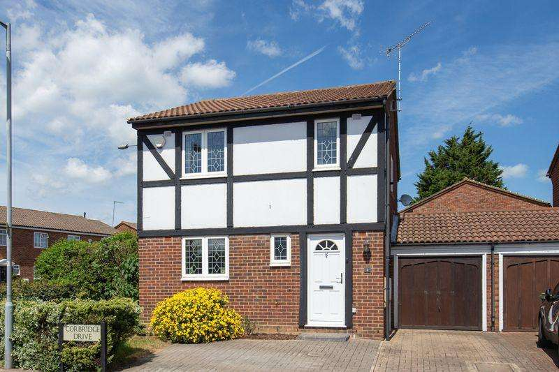 3 Bedrooms Detached House for sale in 3 Bed detached on a corner plot in Wigmore