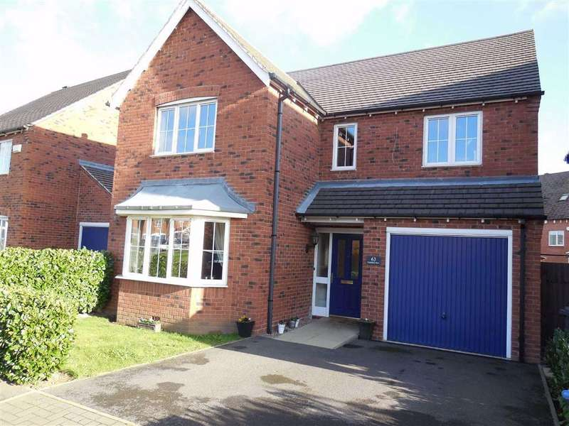 4 Bedrooms Detached House for sale in Paddock Way, Hinckley