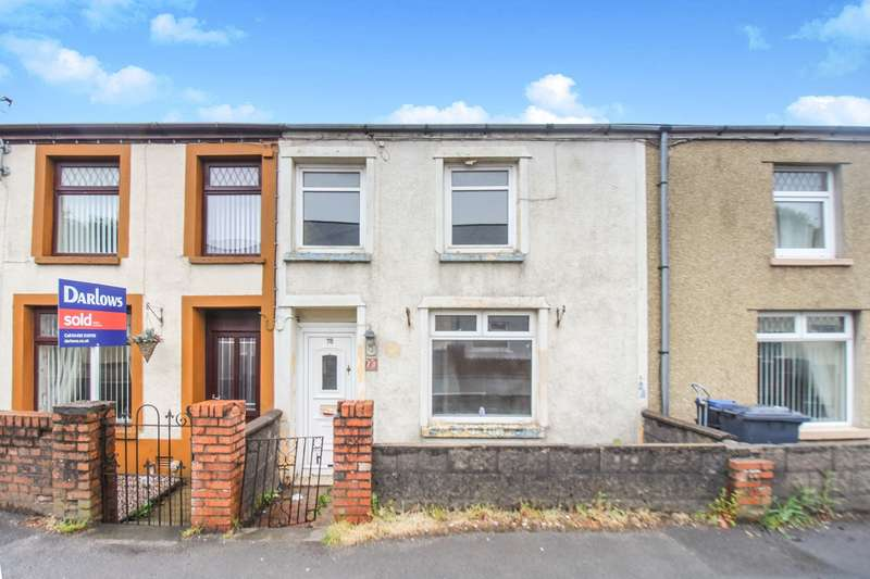 3 Bedrooms Terraced House for sale in Beaufort Hill, Beaufort, Ebbw Vale, NP23