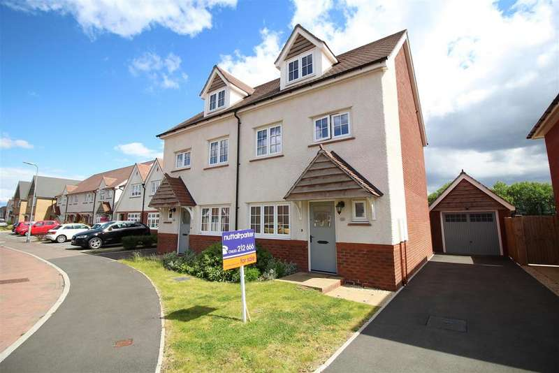 4 Bedrooms Semi Detached House for sale in Capel Dewi Hall Road, Mon Bank, Newport