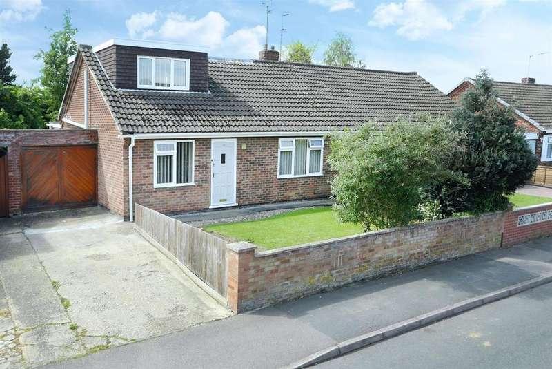3 Bedrooms Semi Detached Bungalow for sale in Essex Gardens, Market Harborough