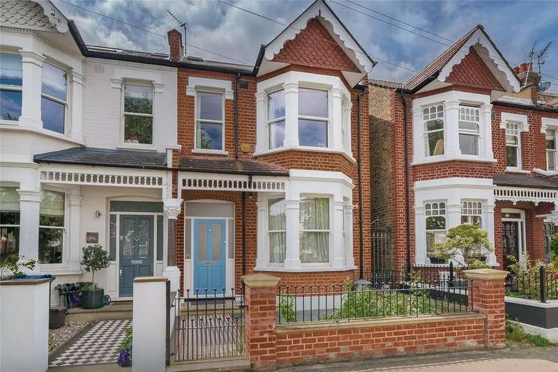 4 Bedrooms Terraced House for sale in Alverstone Avenue, Southfields, London, SW19