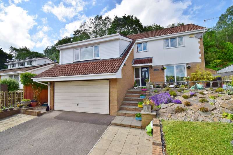 5 Bedrooms Detached House for sale in Blackthorn Court, Dranllwyn Close, Machen, Caerphilly, CF83