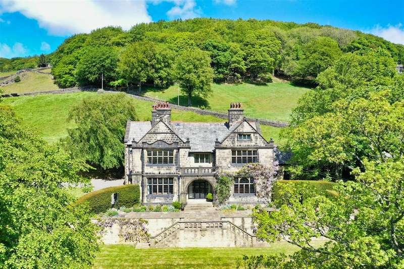 6 Bedrooms Detached House for sale in The Old Vicarage, Rudd Lane, Cragg Vale, Hebden Bridge, HX7 5TB