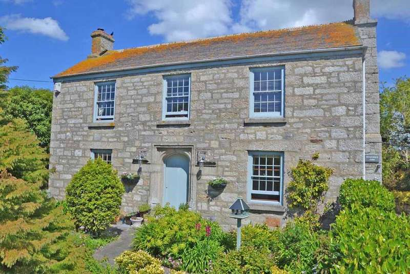 4 Bedrooms Detached House for sale in Praa Sands, Nr. Penzance, Cornwall