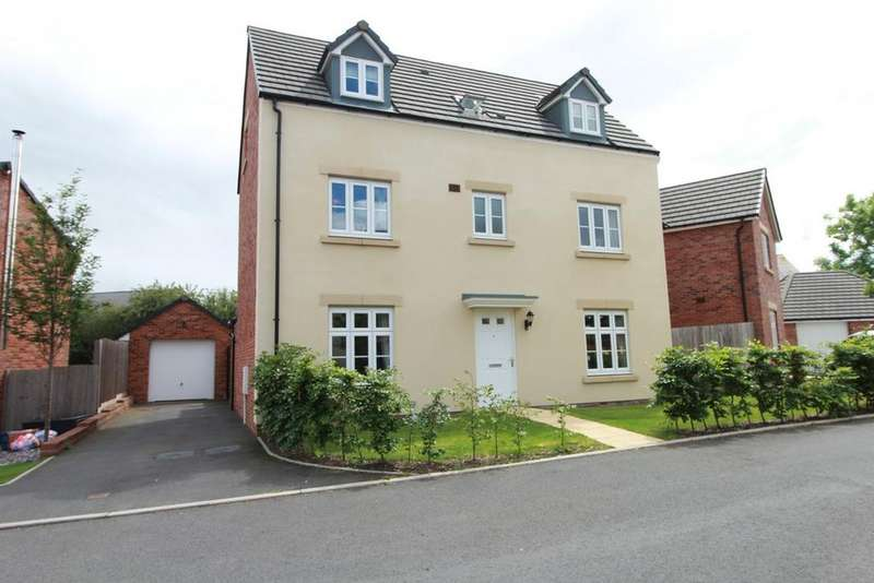 5 Bedrooms Detached House for sale in Clos Ystwyth, Caldicot, NP26