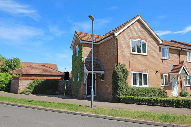 3 Bedrooms End Of Terrace House for sale in Colwyn Close, Stevenage, SG1 2AW