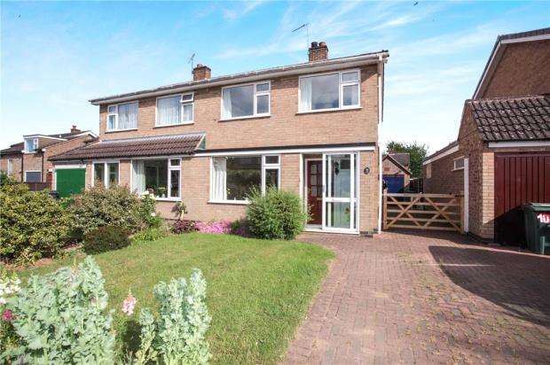 3 Bedrooms Semi Detached House for sale in Derwent Road, Barrow upon Soar, Loughborough