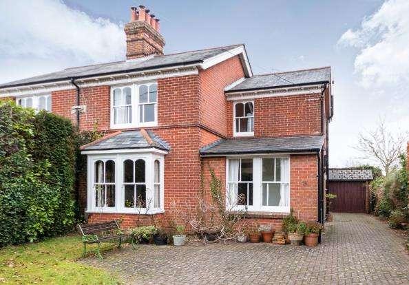 4 Bedrooms Semi Detached House for sale in Oakley, Basingstoke, Hampshire