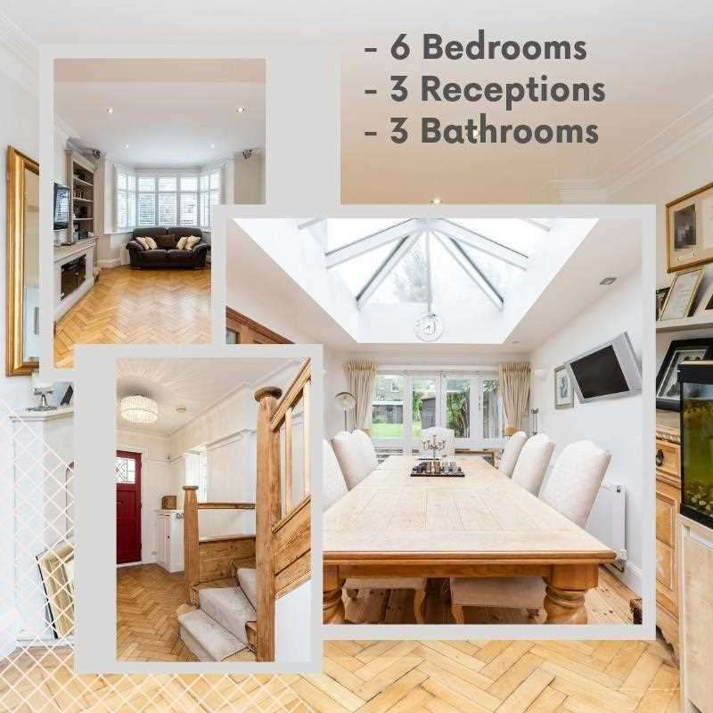 6 Bedrooms House for sale in Creighton Drive, London