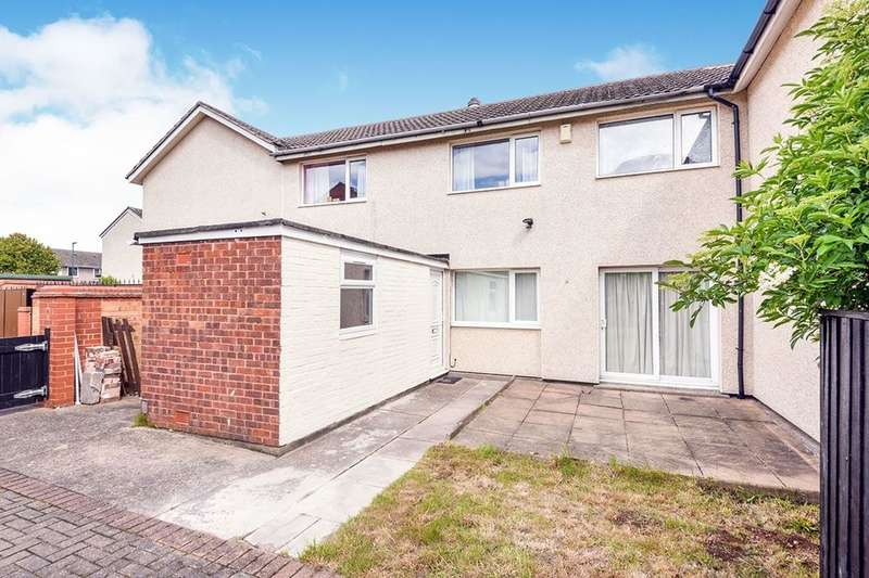 3 Bedrooms Semi Detached House for sale in Hoefield Crescent, Nottingham, NG6