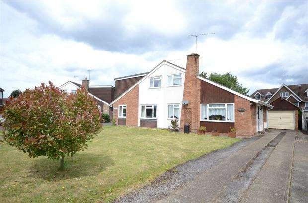 3 Bedrooms Semi Detached Bungalow for sale in Southlands Close, Ash, Surrey
