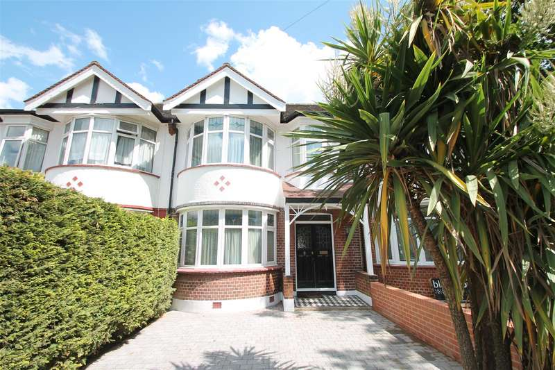 3 Bedrooms Terraced House for sale in Madeira Road, London N13