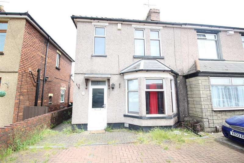 3 Bedrooms Semi Detached House for sale in Nash Road, Newport