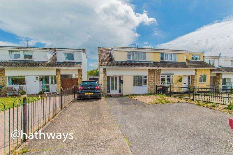 3 Bedrooms Semi Detached House for sale in Eastfield Way, Caerleon